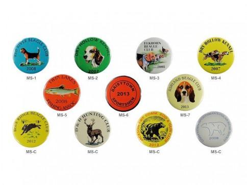 1.75″ Membership Buttons